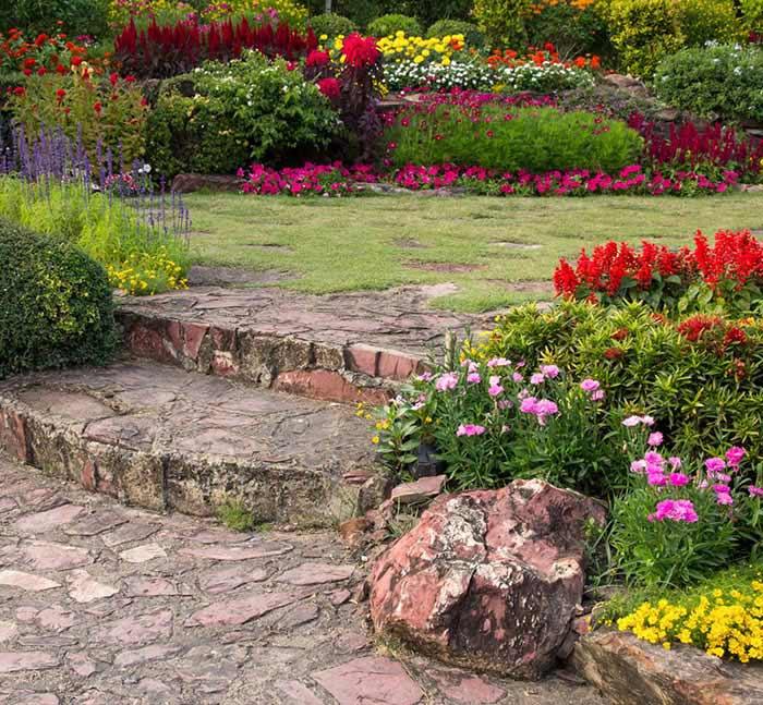 Aménagement paysager d'un jardin privé : tendances 2021