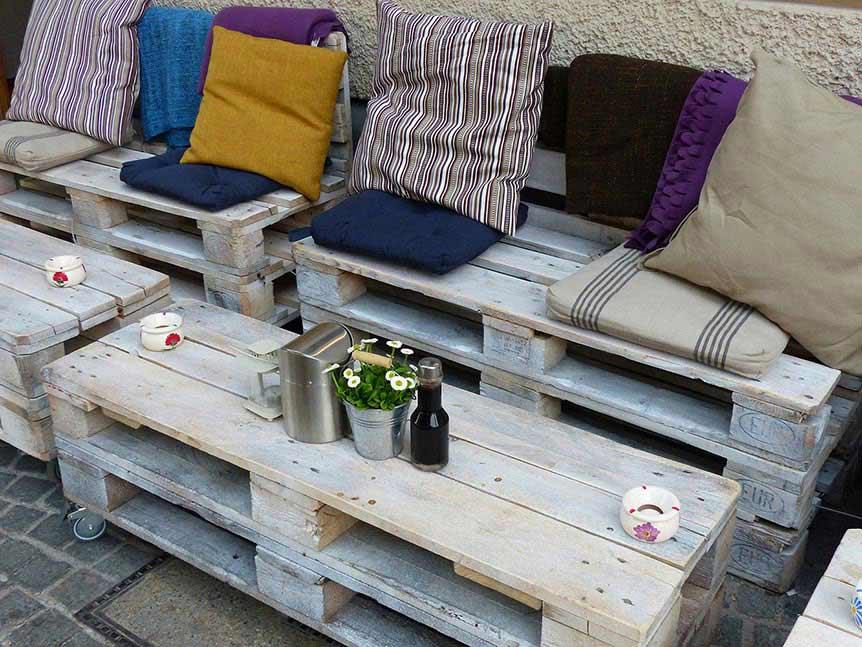 sofa de palettes