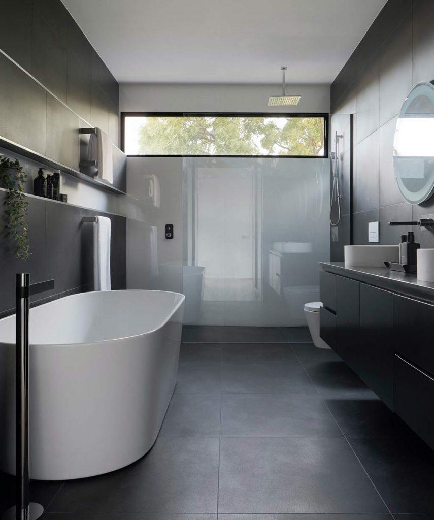 douche italienne salle de bain