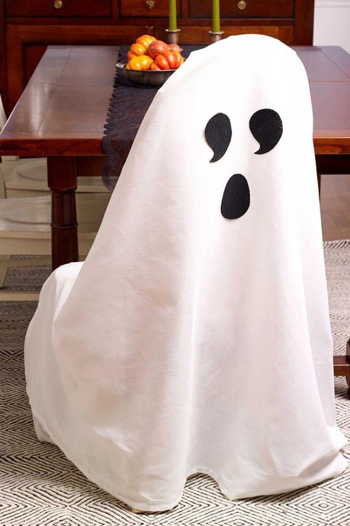décoration fantôme Halloween
