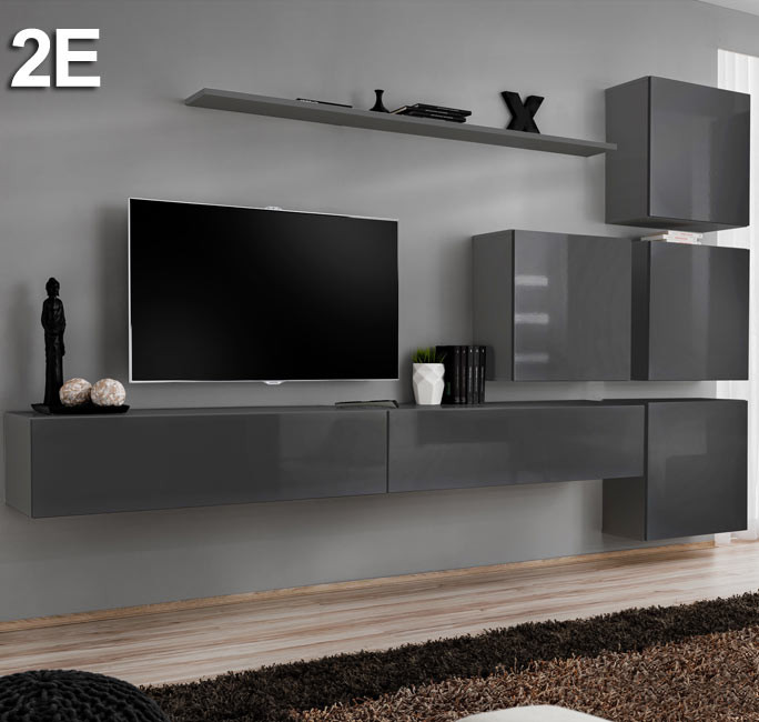 Modèle  Berit 2E gris (3m)