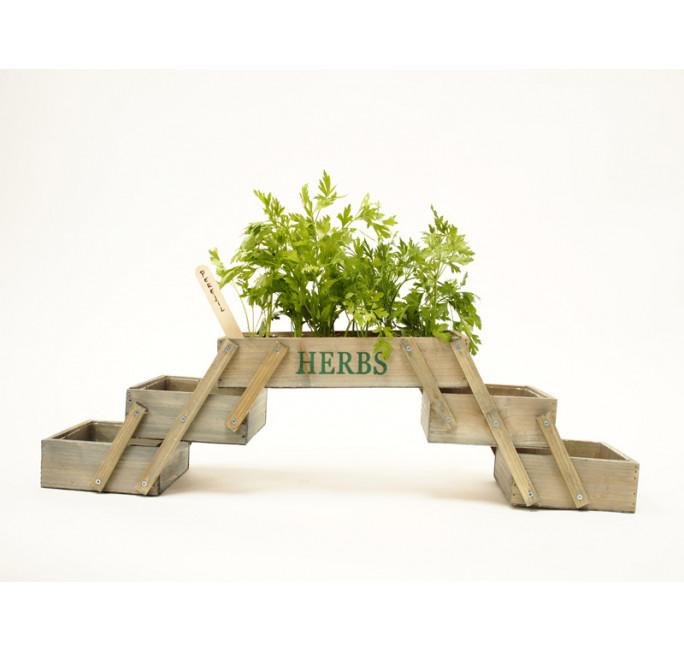 Mini jardin potager modèle pliant