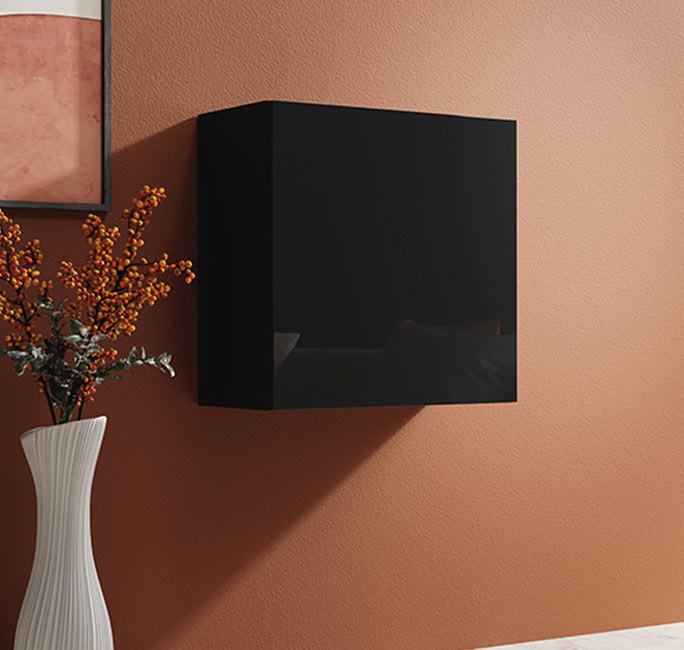 armario colgante baza 60 negro