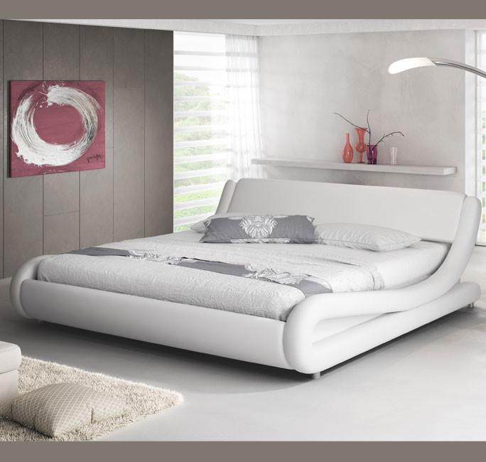 cama alessia blanca