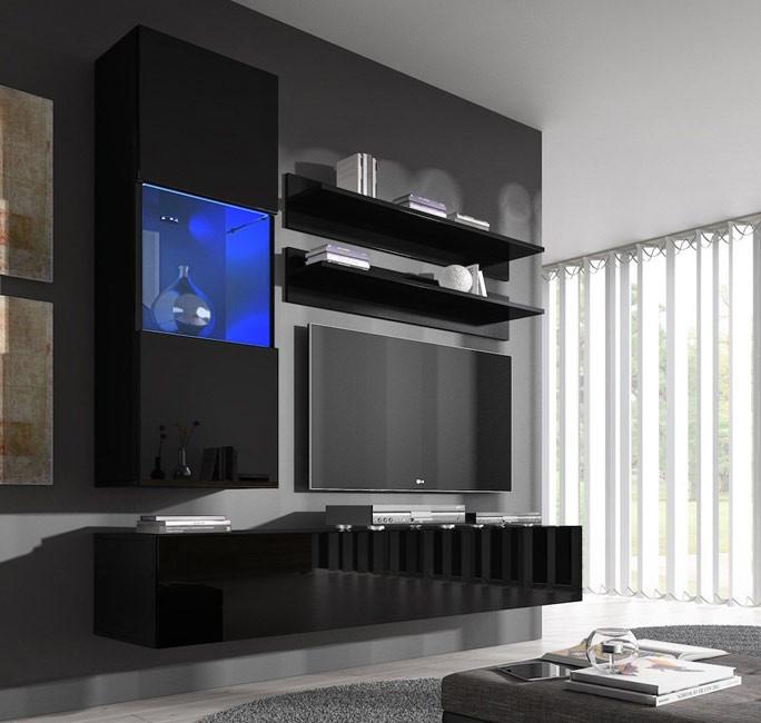 conjunto meubles nora negro h3