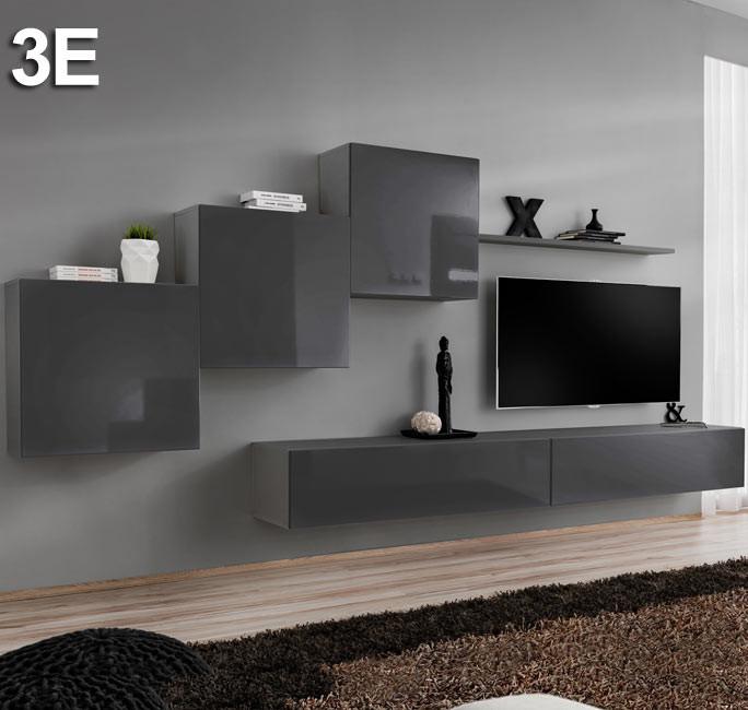 Modèle  Berit 3E gris (3,3m)