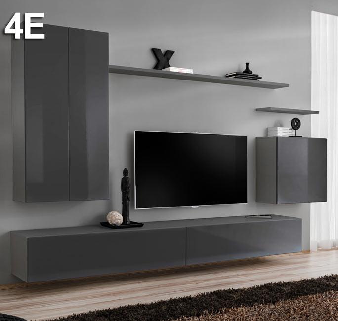 Modèle  Berit 4E gris (2,7m)