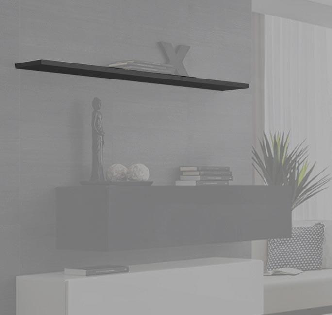 etagere baza 120 gris