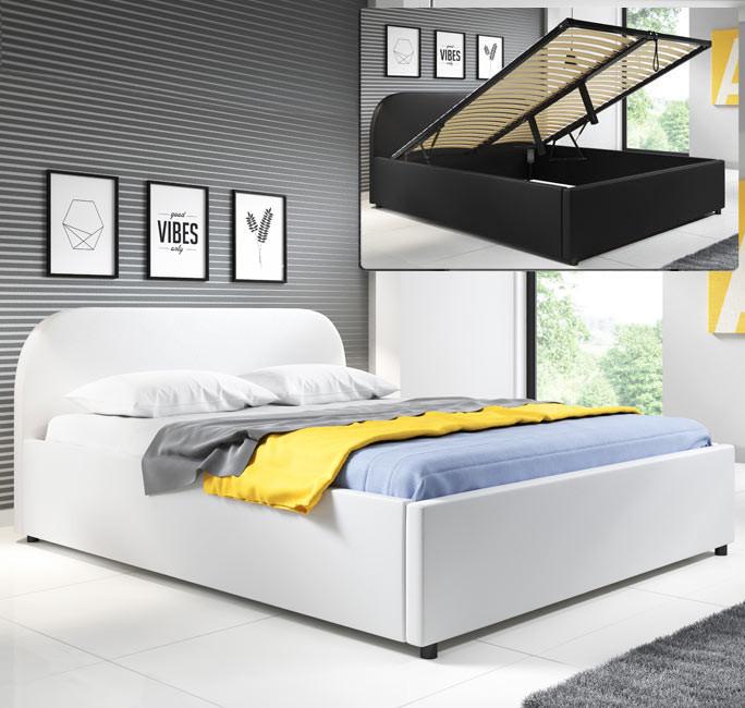 lit lexy blanc