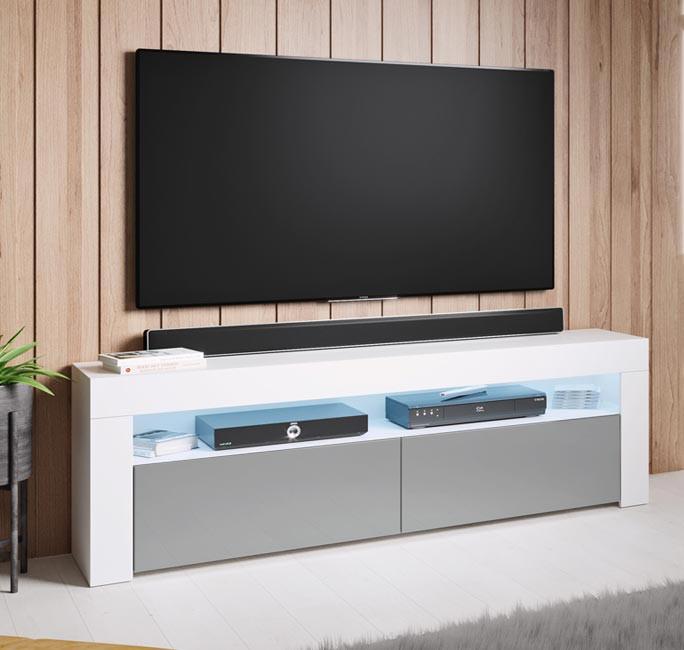 meuble-tv-aker-140-blanc-gris