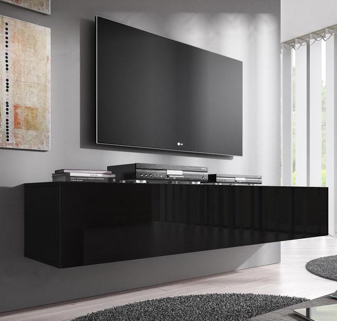 meuble tv forli xl noir