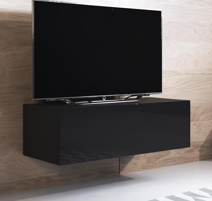 meuble-tv-luke-h1-100x30-noir