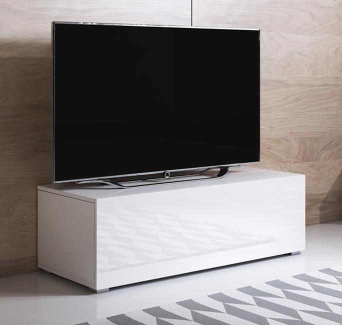 meuble-tv-luke-h1-100x30-pieds-blanc