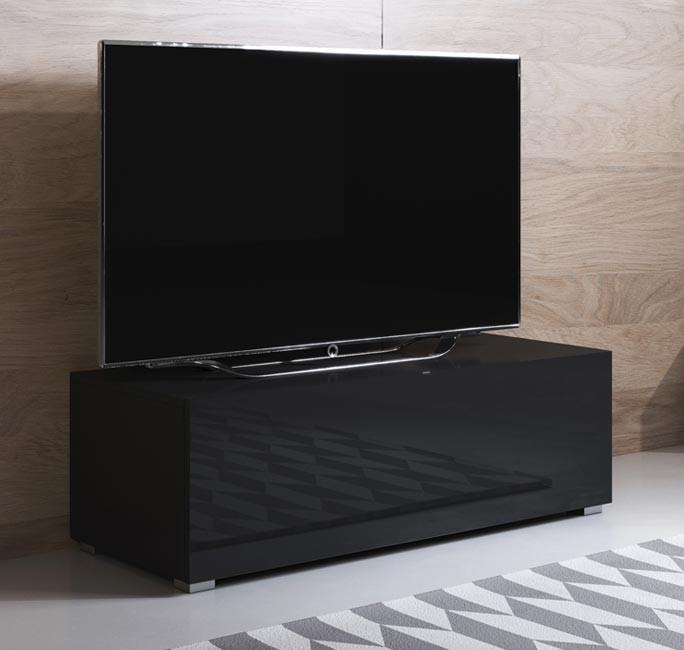 meuble-tv-luke-h1-100x30-pieds-noir