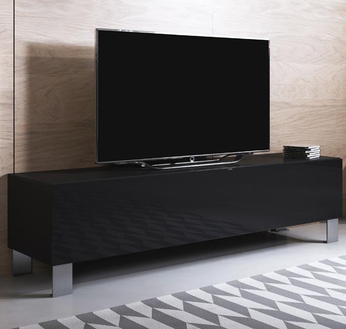 meuble-tv-luke-h2-160x30-pieds-aluminium-noir.
