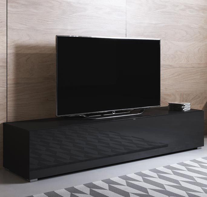 meuble-tv-luke-h2-160x30-pies-noir