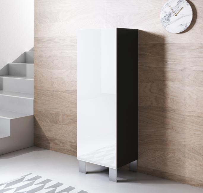 meuble-tv-luke-v1-40x126-pieds-aluminium-noir-blanc.