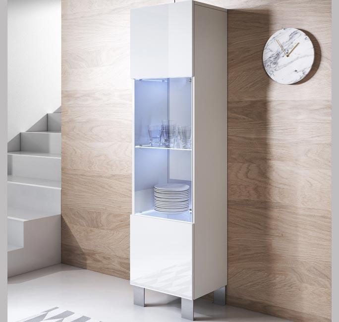 meuble-tv-luke-v6-40x165cc-pieds-aluminium-blanc