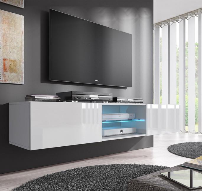 meuble tv tibi blanc