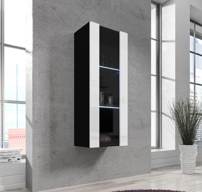 vitrine zarco noir blanc