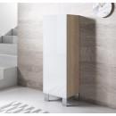 armoire-luke-v1-40x126-pieds-aluminium-sonoma-blanc