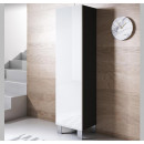 armoire-mural-luke-v4-40x165cc-pieds-aluminium-noir-blanc