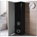 armoire-pieds-noir-luke-v4-40x165cc-noir-blanc-ouvert