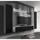conjunto meubles nora blanco negro b1