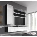 conjunto meubles nora negro blanco h1