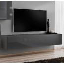 meuble tv berit h120 gris