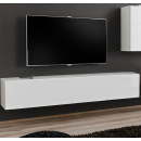 meuble tv berit h180 blanc