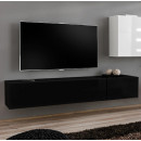 meuble tv berit h180 noir