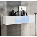 meuble tv krista h150cc blanc