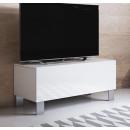 meuble-tv-luke-h1-100x30-pieds-aluminiumblanc