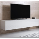 meuble tv luke h2 160x30 blanc