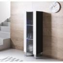 meuble-tv-luke-v2-40x126cr-pieds-aluminium-noir-blanc