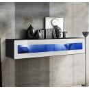 mueble tv krista h120cr blanco negro