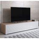 mueble-tv-luke-h2-160x30-pieds-sonoma-blanc