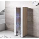 vitrine-luke-v2-40x126-pieds-sonoma-blanc