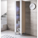 vitrine-luke-v5-pied_aluminium-sonoma-blanc