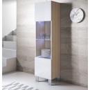 vitrine-luke-v6-pied_aluminium-sonoma-blanc