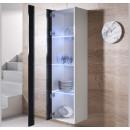 vitrine-mural-luke-v5-40x165cc-blanc-noir-ouvert