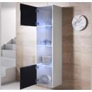 vitrine-mural-luke-v6-40x165cc-blanc-noir-ouvert