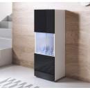 vitrine-pieds-blanc-luke-v6-40x126cc-blanc-noir