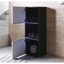 vitrine-pieds-noir-luke-v6-40x126cc-noir-blanc-ouvert
