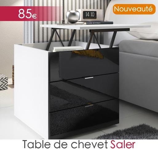 Table de chevet Saler