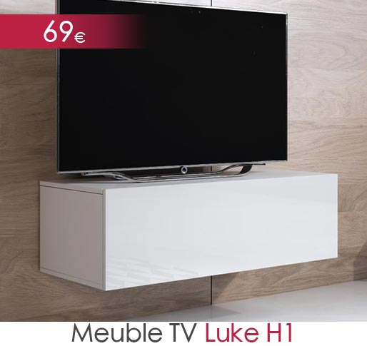 Meuble TV Luke H1 (100x30cm)