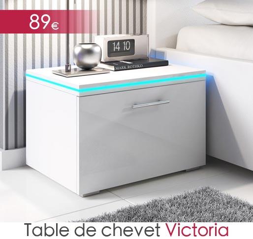 Table de chevet Victoria