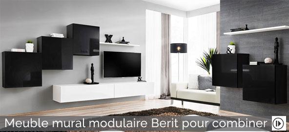 Meuble mural modulaire Berit pour combiner