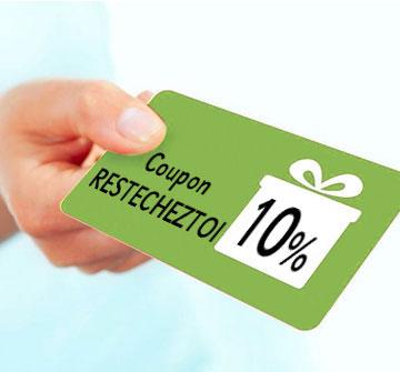 On vous offre une remise de 10%